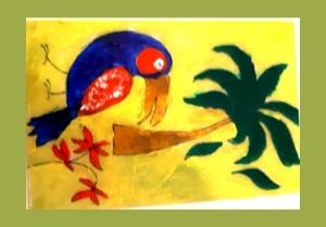 atelier de pictura pe sticla