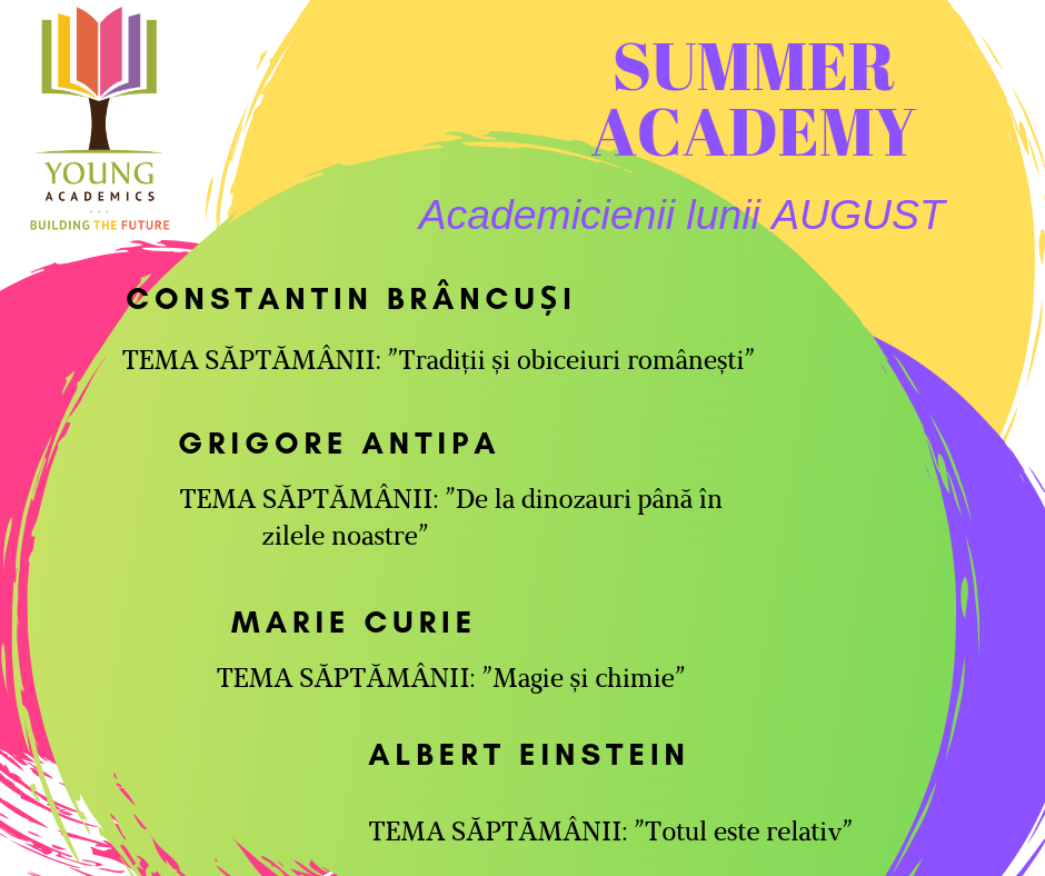summer acdemy 2019 program august